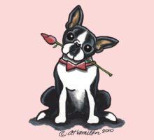 Boston Terrier Sweetheart One Piece - Long Sleeve