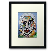 Another Gray Framed Print
