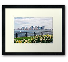 Springtime in New York Framed Print