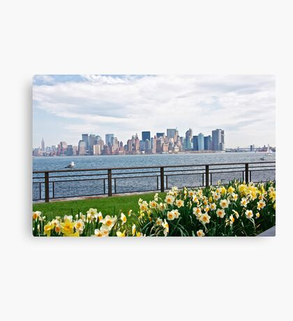 Springtime in New York Canvas Print