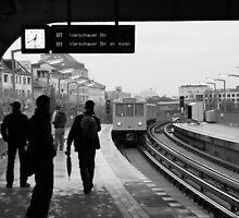 Berlin U-Bahn Station by MikeMcM