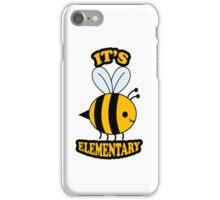 It's Elementary iPhone Case/Skin