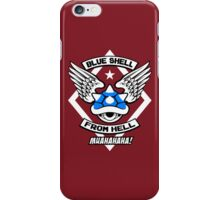 Blue Shell From Hell iPhone Case/Skin