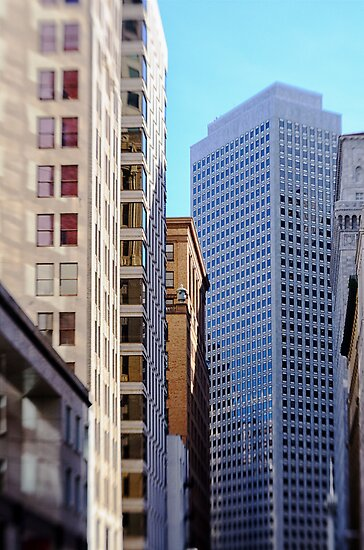 Downtown San Francisco  by Kasia-D