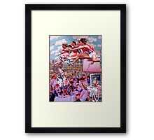 Carnival Olympics. Framed Print