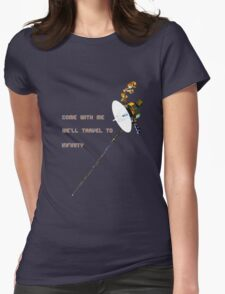 Voyage(r) to Infinity Womens Fitted T-Shirt