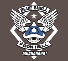 Blue Shell From Hell Kids Clothes