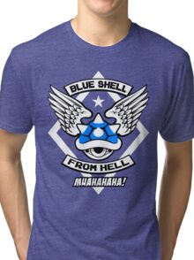 Blue Shell From Hell Tri-blend T-Shirt