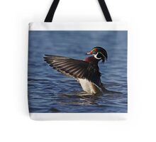 She went that away! - Wood Duck Tote Bag