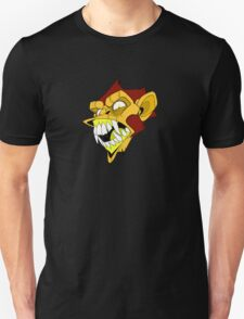 Angry Monkey - Orange/Red No Text T-Shirt