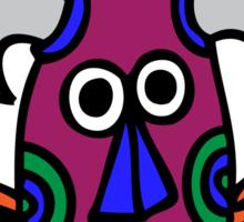 Tribal Mask Sticker