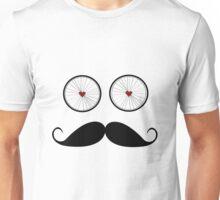 Handle bar mustache Unisex T-Shirt
