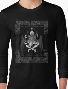 Celtic Cthulhu Long Sleeve T-Shirt