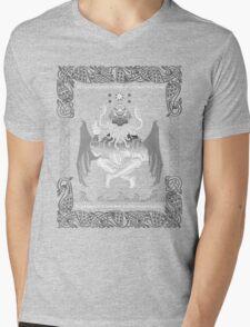 Celtic Cthulhu Mens V-Neck T-Shirt