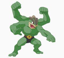 Hulk Machamp by rodomado