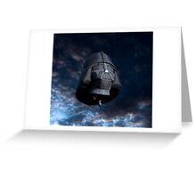 2011 Special Shapes - Darth Vader Greeting Card