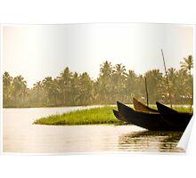 Take Me Away - Kerala Backwaters - India Poster