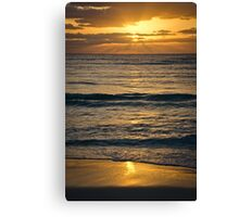 Sunrise over Playa Canvas Print