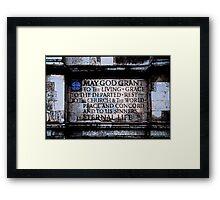 Westminster Abbey, London Framed Print