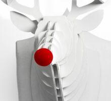 Rudolf Red Sticker