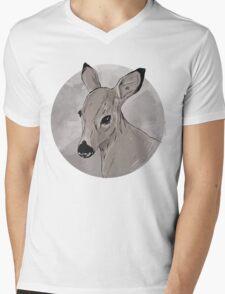 DEER ME Mens V-Neck T-Shirt