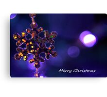 Star for Christmas Canvas Print