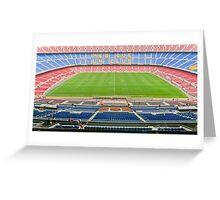 Camp Nou (FC Barca) Greeting Card