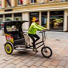 Glasgow rickshaw by saabbhoy