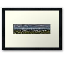 Brisbane from Mt Coot Tha Framed Print