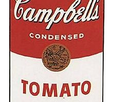 andy warhol campbell's soup by TinkyWonkie