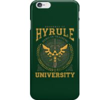 Hyrule University iPhone Case/Skin