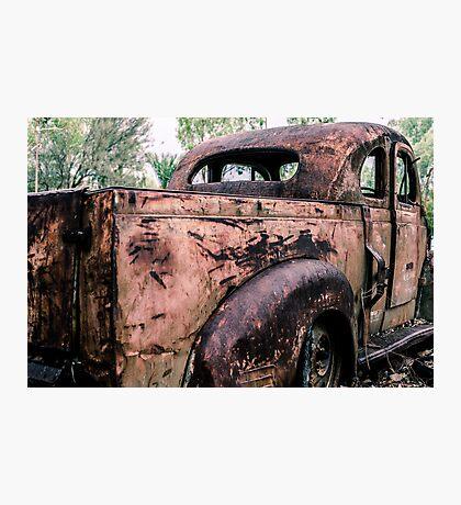 Rust Photographic Print