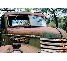 Rusting Away Photographic Print