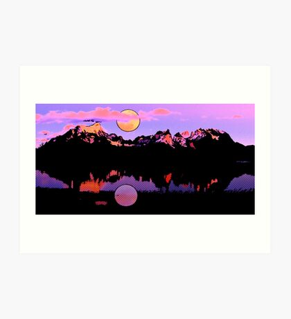 Lago Pehoe in Torres del Paine, Chile 2 Art Print