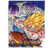 Goku vs Frieza Poster