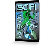 Cthulhu on the cover of SCIFI Greeting Card