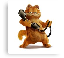 Garfield Telephone Canvas Print