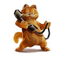Garfield Telephone Photographic Print