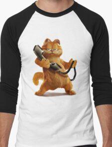 Garfield Telephone Men's Baseball ¾ T-Shirt