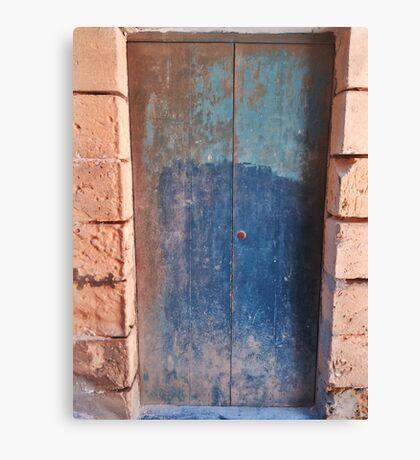 Little Blue - Chiara Conte Canvas Print