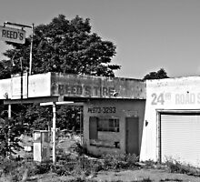 """ Retired Tire Establishment "" by Gail Jones"
