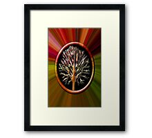 ✌☮ TREE BLEEDING INSIDE CRYING OUT TAKE CARE OF OUR TREES & MOTHER EARTH✌☮  Framed Print
