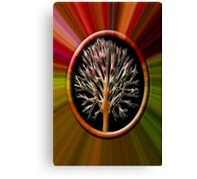 ✌☮ TREE BLEEDING INSIDE CRYING OUT TAKE CARE OF OUR TREES & MOTHER EARTH✌☮  Canvas Print