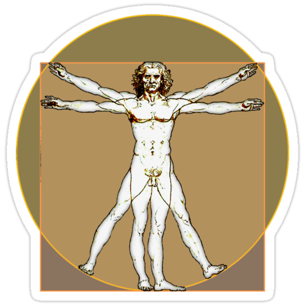Vitruvian Dude by digerati