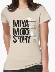 Miyamoto Story Womens Fitted T-Shirt