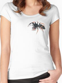 Jumping Spider Women's Fitted Scoop T-Shirt
