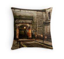 Stockbridge Market Throw Pillow