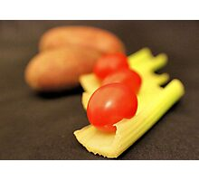 Vegetables for Stew Photographic Print