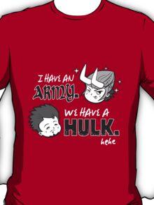 Avengers vs Loki T-Shirt
