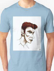 David Bowie Caricature Unisex T-Shirt